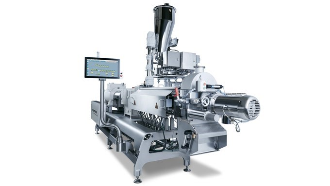 Coperion twin screw extruder ZSK 54 Mv diagonal