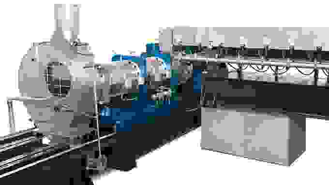 Coperion twin screw extruder STS Mc11 4c