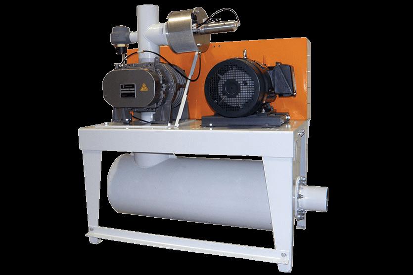 Vacuum Blowers Industrial Process : Vacuum pressure blower coperion