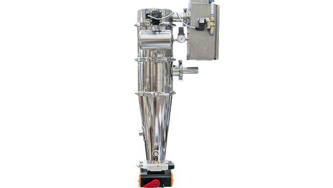 P10 venturi loader meets 3A dairy sanitary requirements