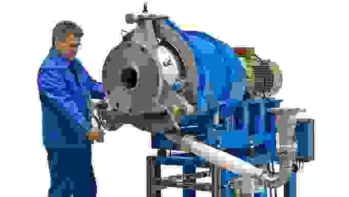 Coperion water-ring pelletizer WRG