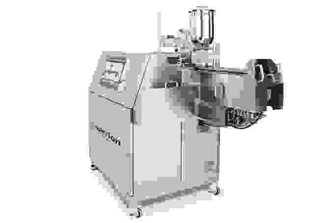 Coperion twin screw extruder ZSK 18 MEGAlab side