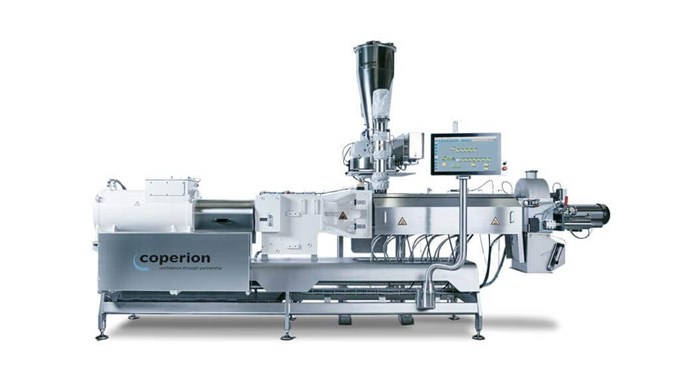 Coperion twin screw extruder ZSK 54 Mv PLUS