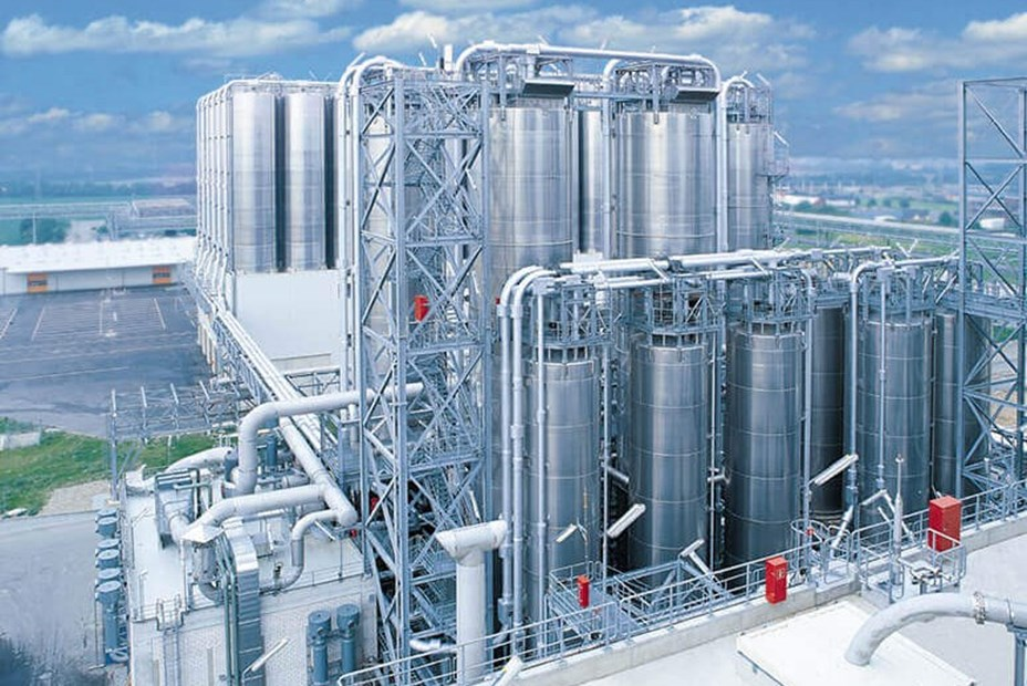 Plant for polyolefin production