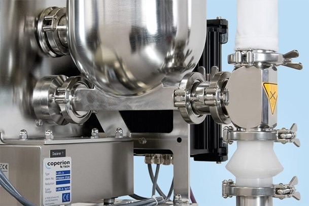 Coperion K-Tron PH feeders are specifically designed for use in pharmaceutical applications