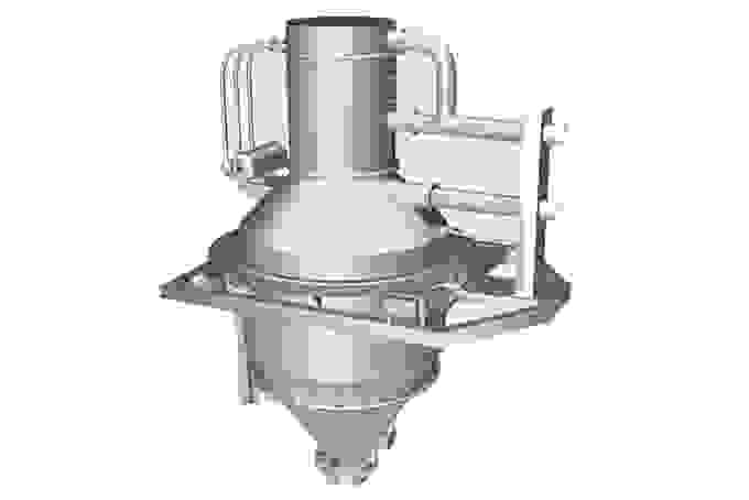 Coperion K-Tron 1000 Liter Batch Weigh Vacuum Receiver