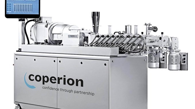 Coperion Twin Screw Extruder ZSK 26 Mc