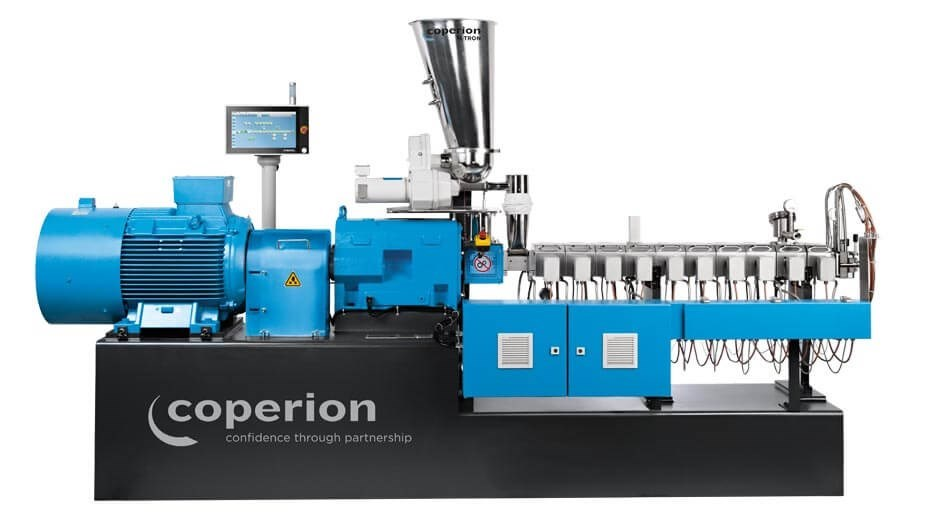 Coperion twin screw extruder STS 35 Mc11 for Masterbatch