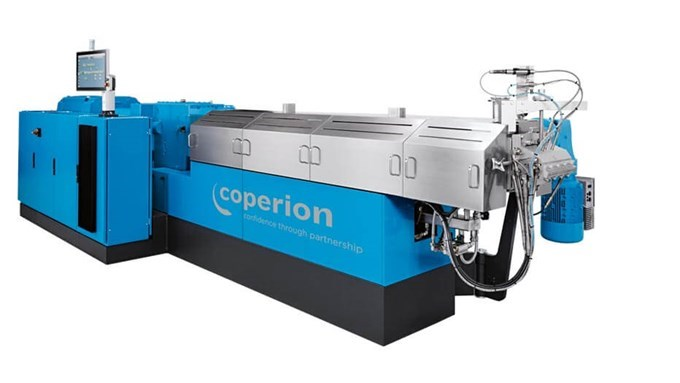 Coperion twin screw extruder ZSK 58 compact