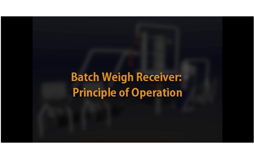 Coperion K-Tron batch weigh video