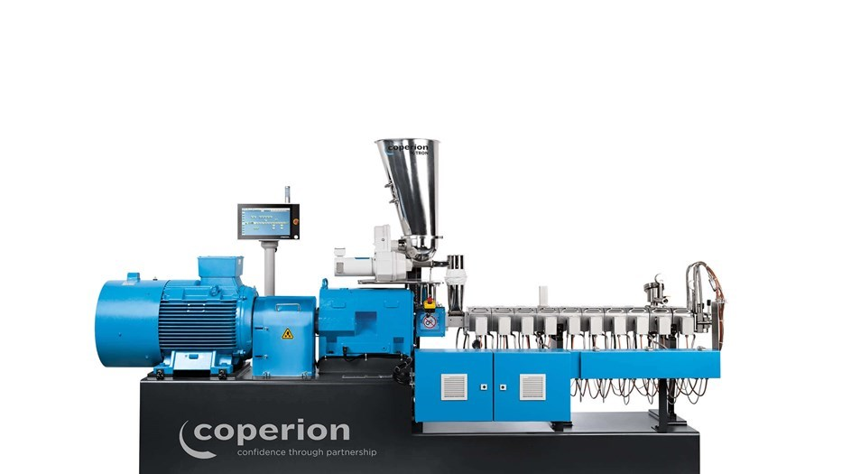 Coperion twin screw extruder STS 35 Mc11