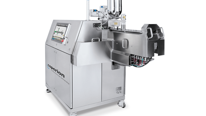Coperion Pharma twin screw extruder