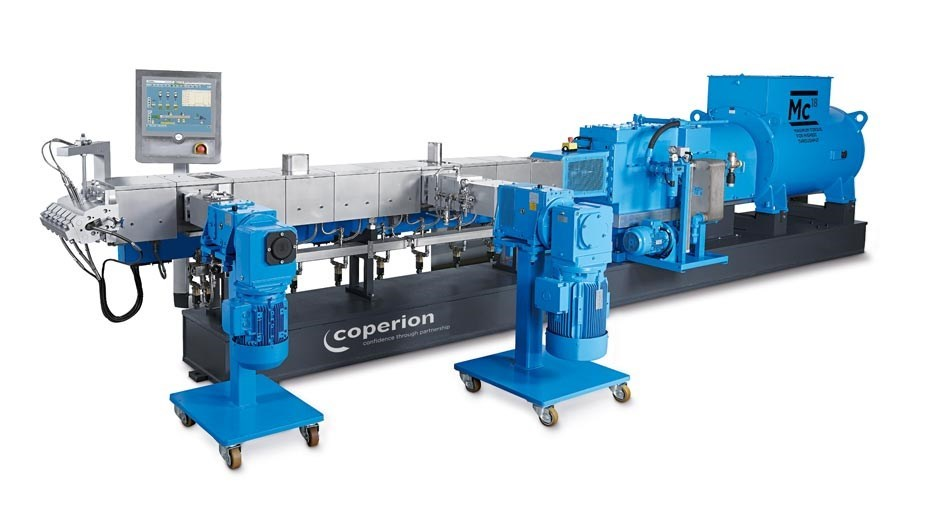 Coperion ZSK 82 Mc18 Twin Screw Extruder