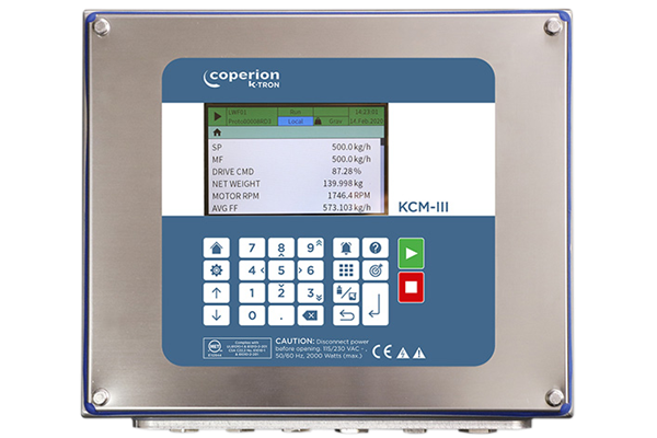 Coperion K-Tron KCM-III Feeder Control Module with LCD display