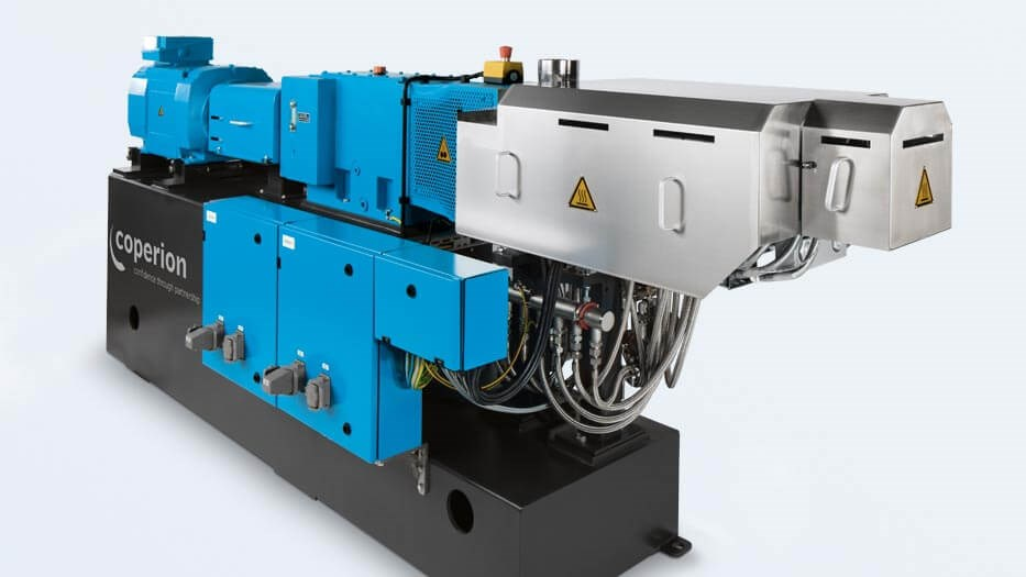 Coperion Twin Screw Extruder ZSK 43 world proven Process Powder Coating