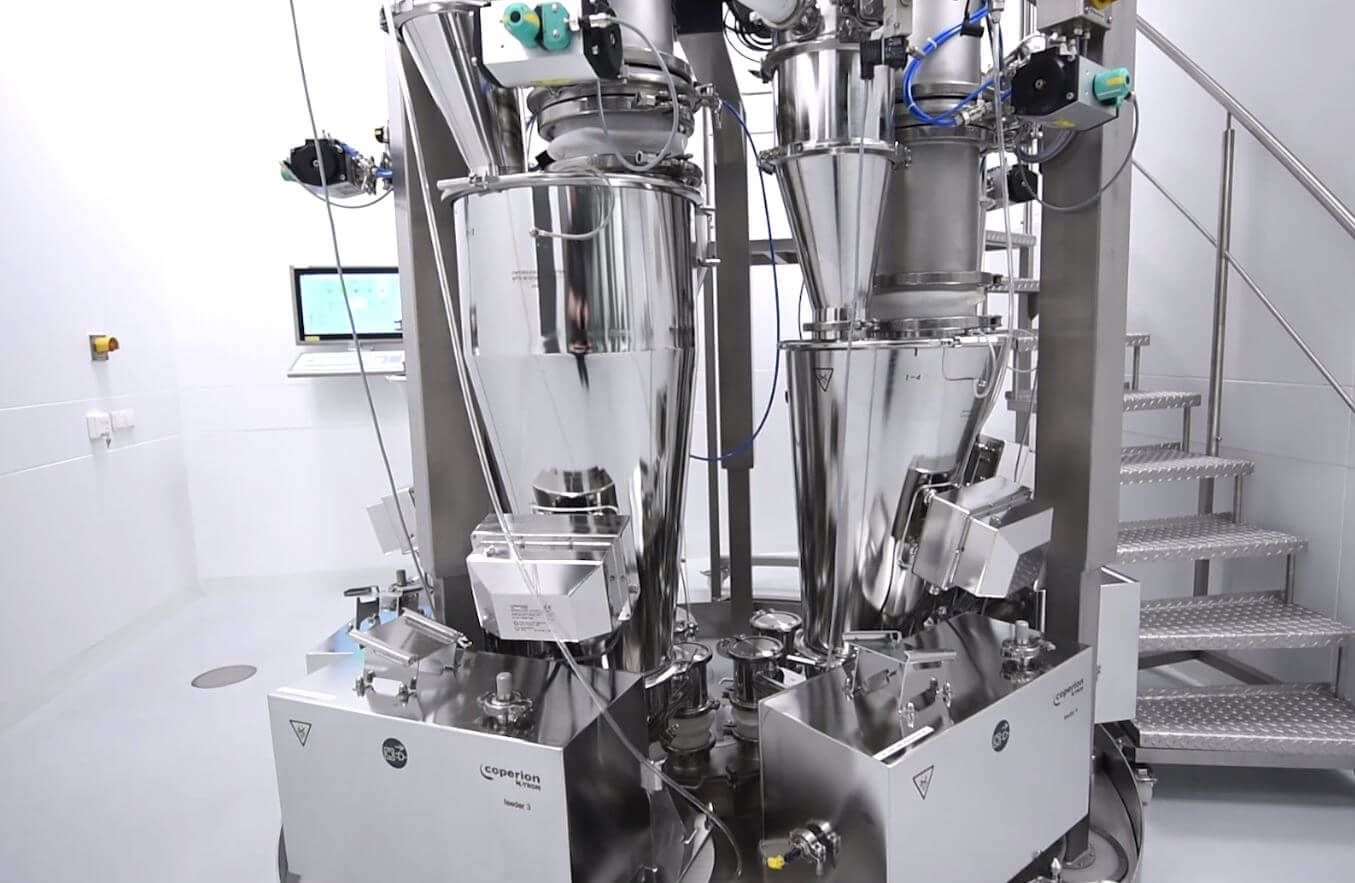Pfizer CMT with Coperion K-Tron Feeders