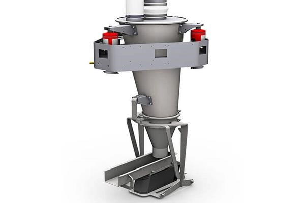 K3-ML-V200 Vibratory Feeder on 3-point SFT load cell system