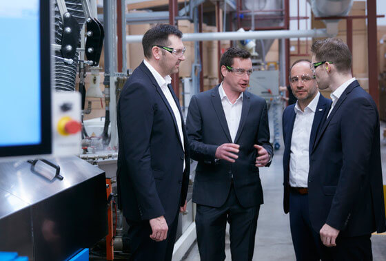Coperion Kunststoff-Recycling Technologie